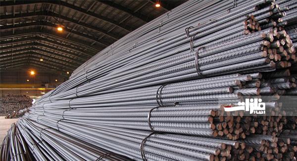 ۱۶۵ هزار تن میلگرد و تیرآهن در بورس کالا