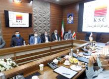 دیدار مدیرعامل شرکت فولاد خوزستان با شهردار اهواز