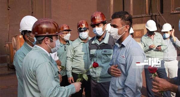 اولویت فولادهرمزگان توجه به معیشت کارکنان است