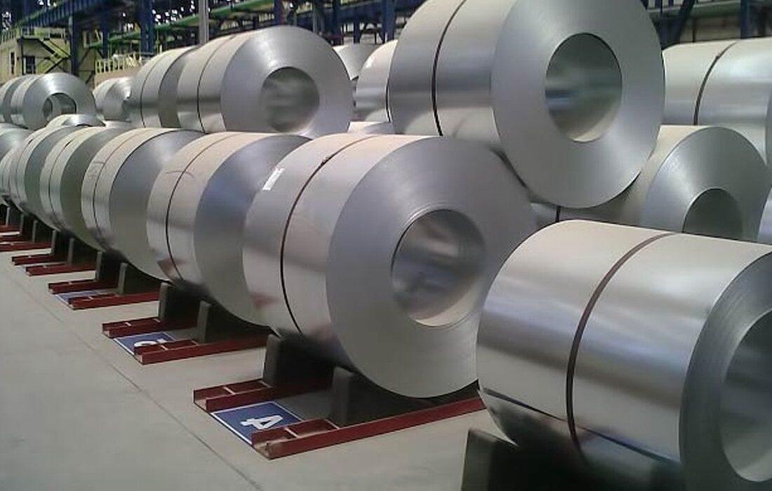 دادوستد ۱۴۲ هزار ورق فولادی در بورس کالا