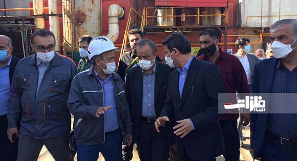 بازدید وزیر صمت از معدن طلای زرشوران