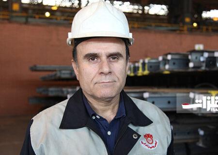 تولید تاکنون ۲۰ هزار تن ریل در ذوبآهن اصفهان