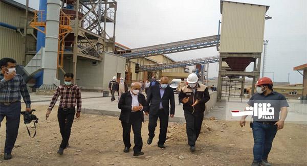 تولید کارخانه فولاد راور از هفته آینده آغاز میشود