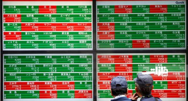 سهام آسیا اقیانوسیه سوار بر موج نزول