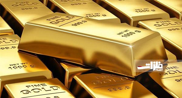 افت قیمت جهانی طلا ادامه دارد
