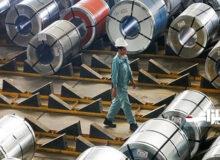 ۸ سال رشد چشمگیر در صاردات فولادخام