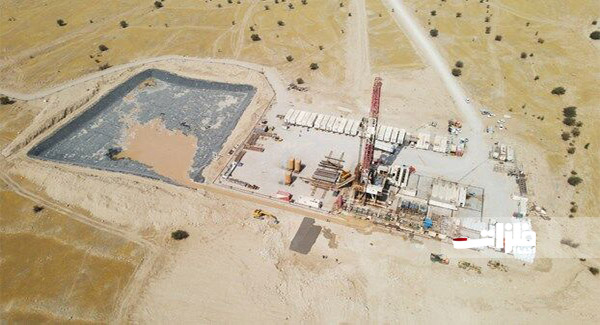 آغاز عملیات اجرایی طرح نگهداشت و افزایش تولید نفت منصورآباد