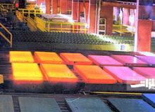 تولید شمش فولادی ۵۳۰ میلیمتری در اسفراین