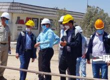بازدید مدیرعامل ذوبآهن از پروژه انتقال آب و پساب شرکت