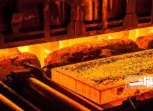 تولید فولاد خام جهان ۱۲ درصد افزایش یافت