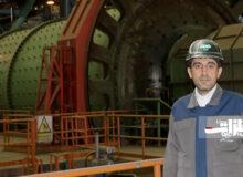 تولید ۴۶۵ هزار تن گندله در فولاد سنگان