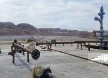 اتمام حفاری چاه ۴۴ دهلران
