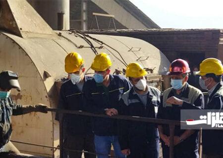 اتمام تعمیرات اساسی آگلوماشین شماره یک ذوبآهن