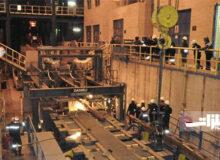 تولید شمش ۹۵ تن فولادی در اسفراین