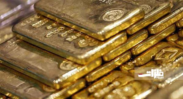 افت و خیز قیمت جهانی طلا