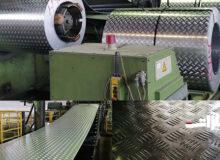 تولید ورق آجدار ۵ پر در نورد آلومینیوم آغاز شد