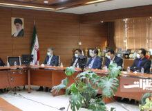 دیدار مدیران بانک سپه خوزستان با مدیرعامل فولاد اکسین