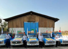 فولاد خوزستان به یاری مردم اندیکا شتافت