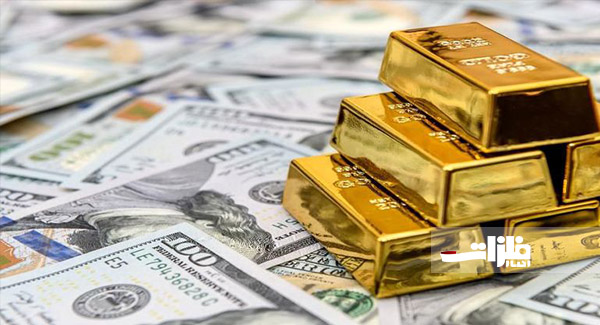 قیمت طلا همشانه دلار رشد کرد