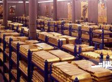 روسیه در جایگاه پنجمین ذخایر ارزی و طلای بزرگ جهان ایستاد