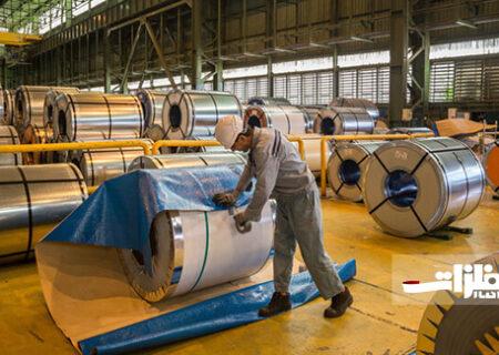 کاهش ۹ درصدی تولید محصولات فولادی کشور